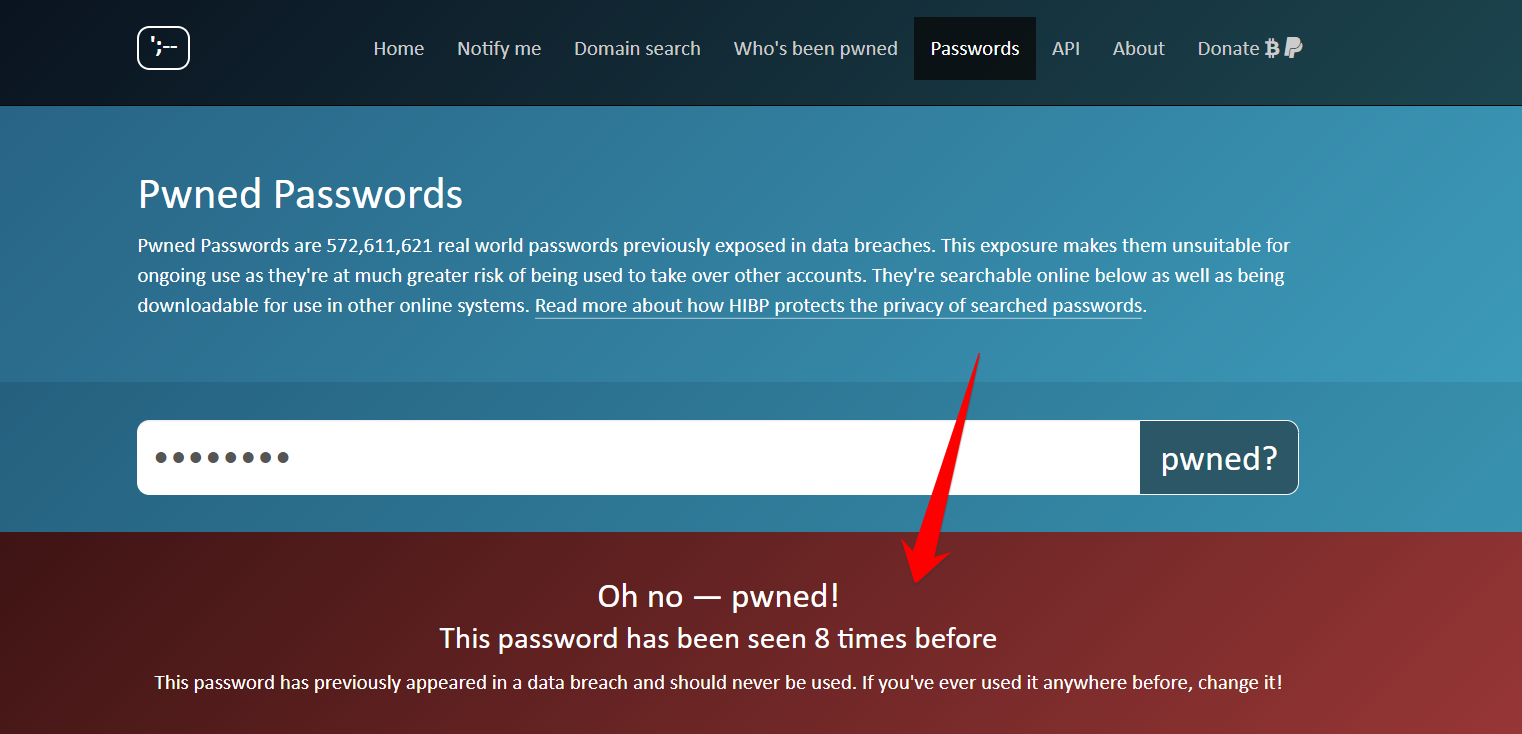 Is your password pwned Check before you make a WordPress password