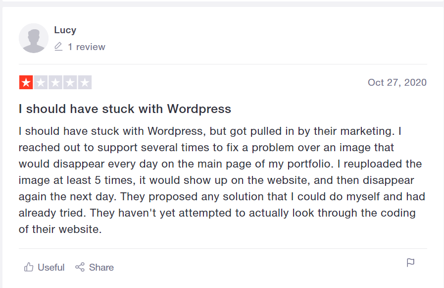 Bad SquareSpace Support