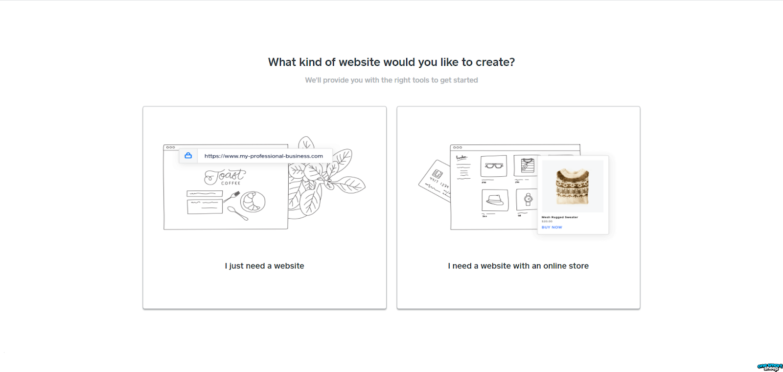First Step on Weebly to create a website
