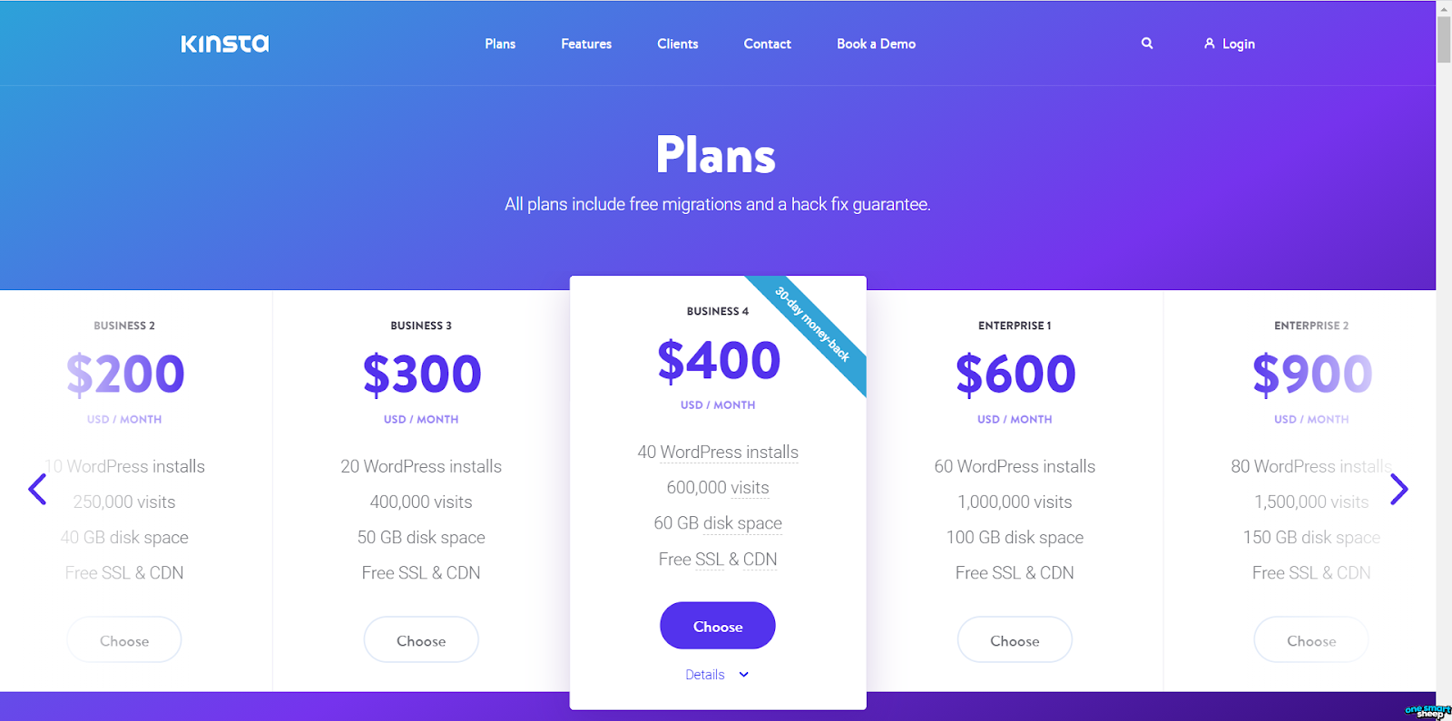 Hosting Pricing