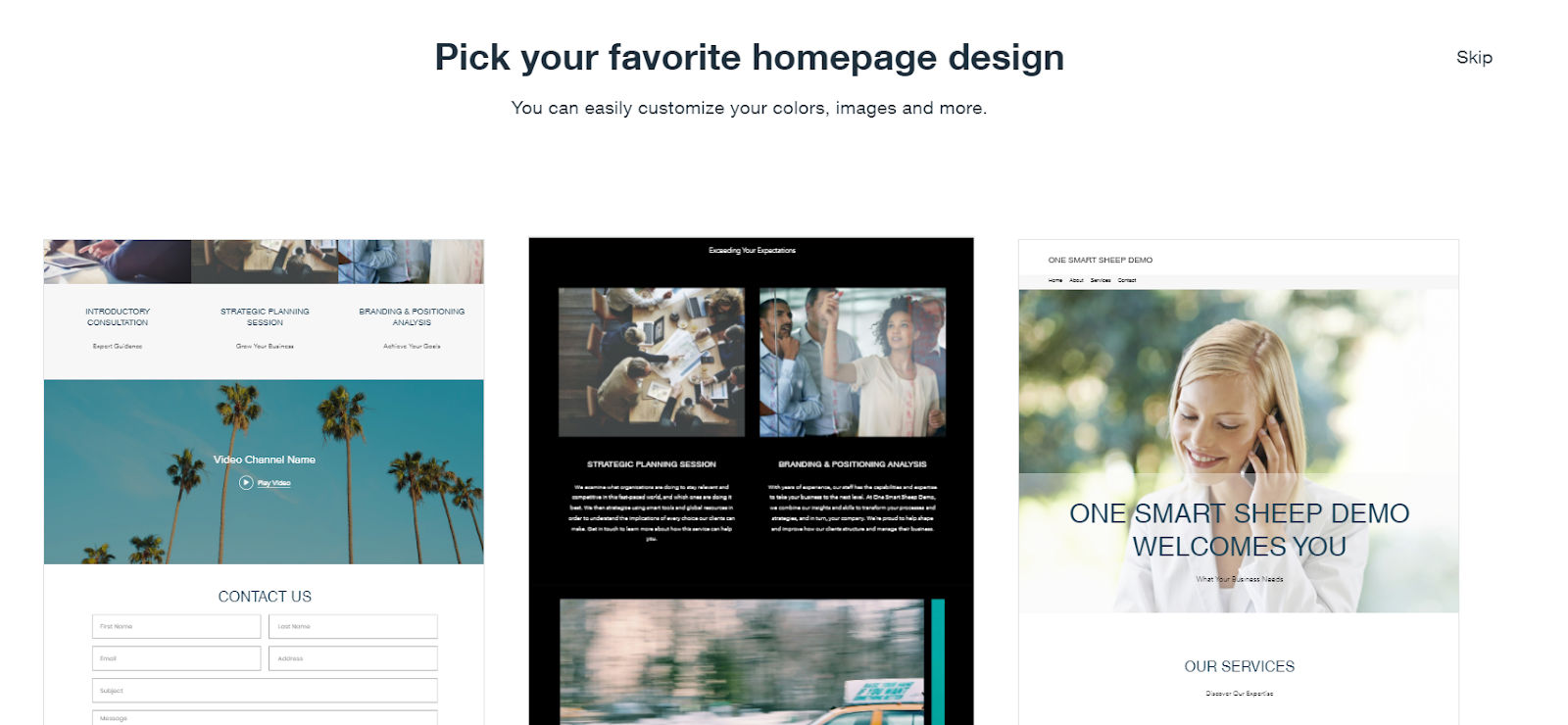 Pick Your Web Design For Your Small Business Website