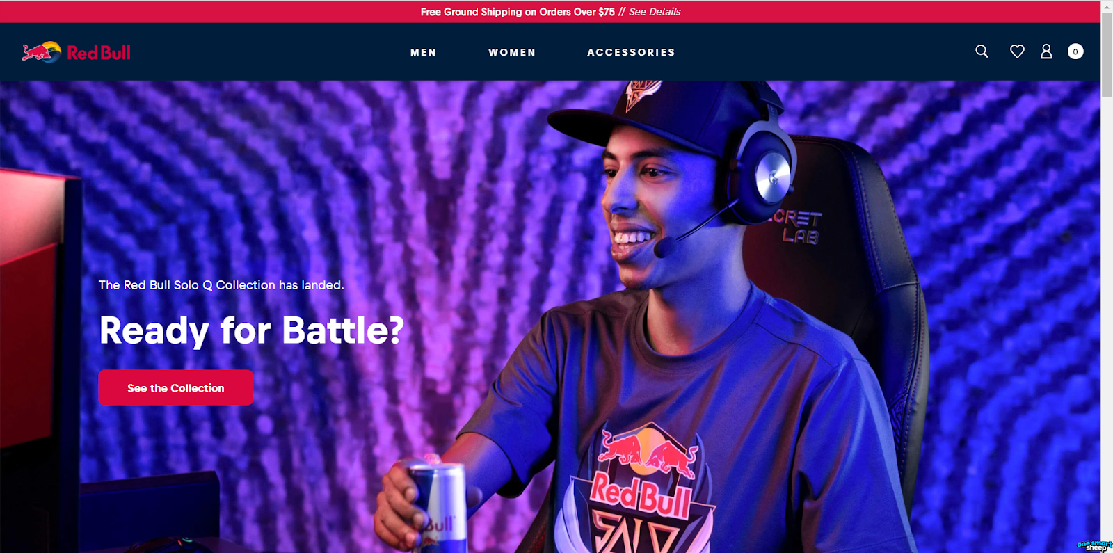 Red Bull Big Brand Runs On Shopify