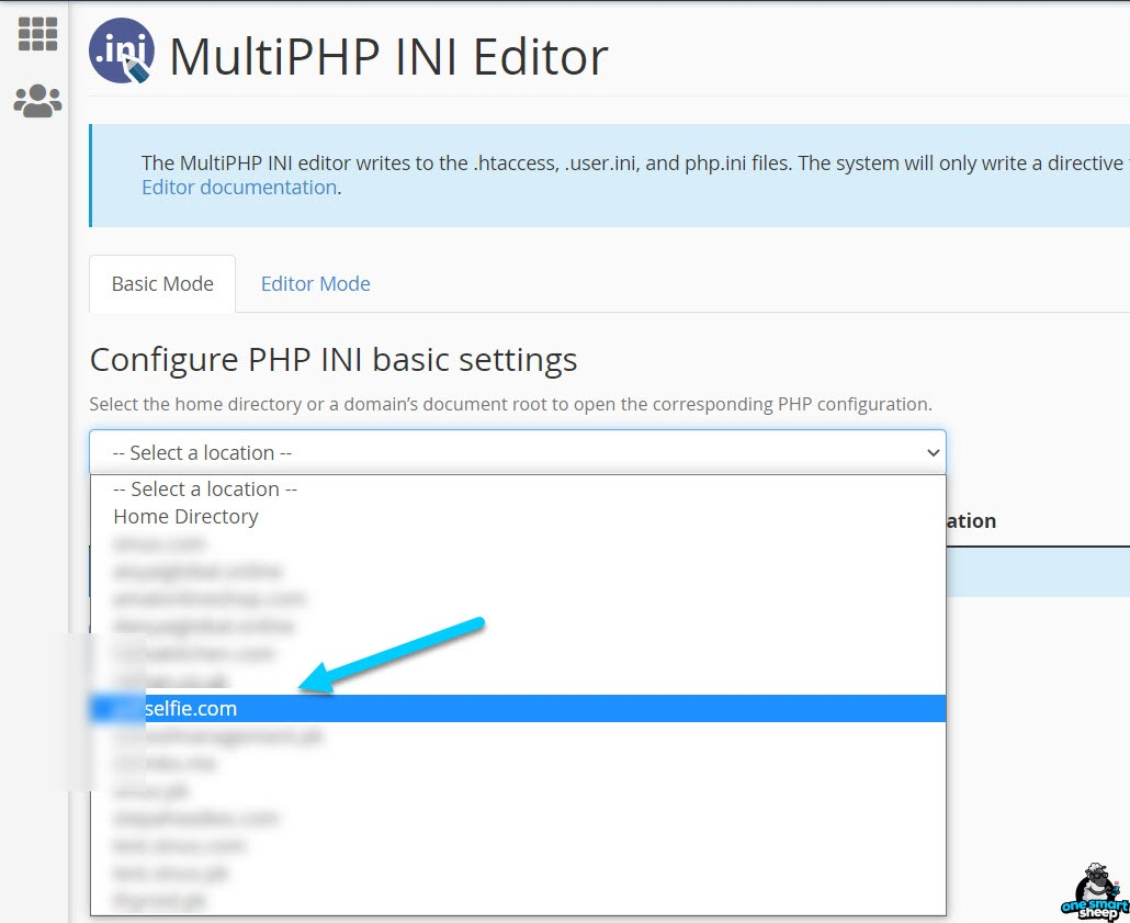 Edit The Php Ini File In Cpanel
