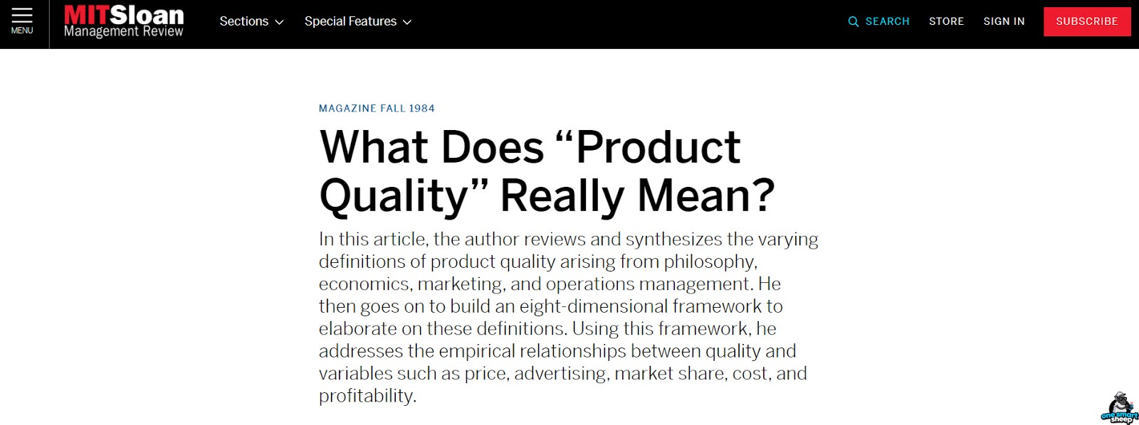 What Does Product Mean